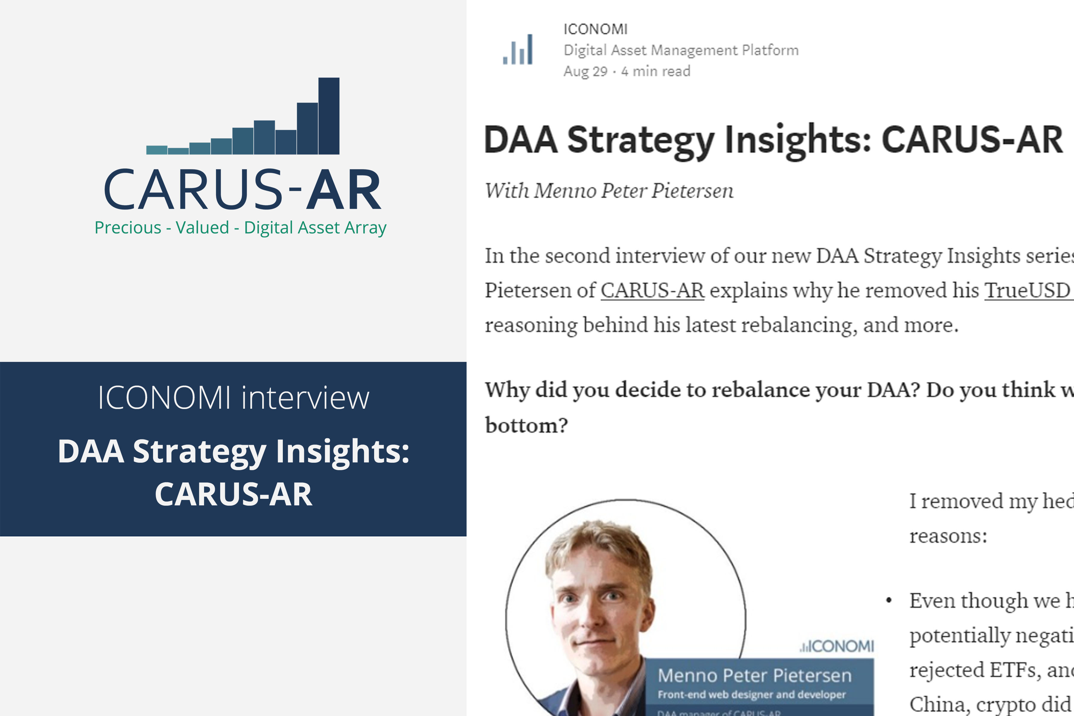 DAA Strategy Insights: CARUS-AR