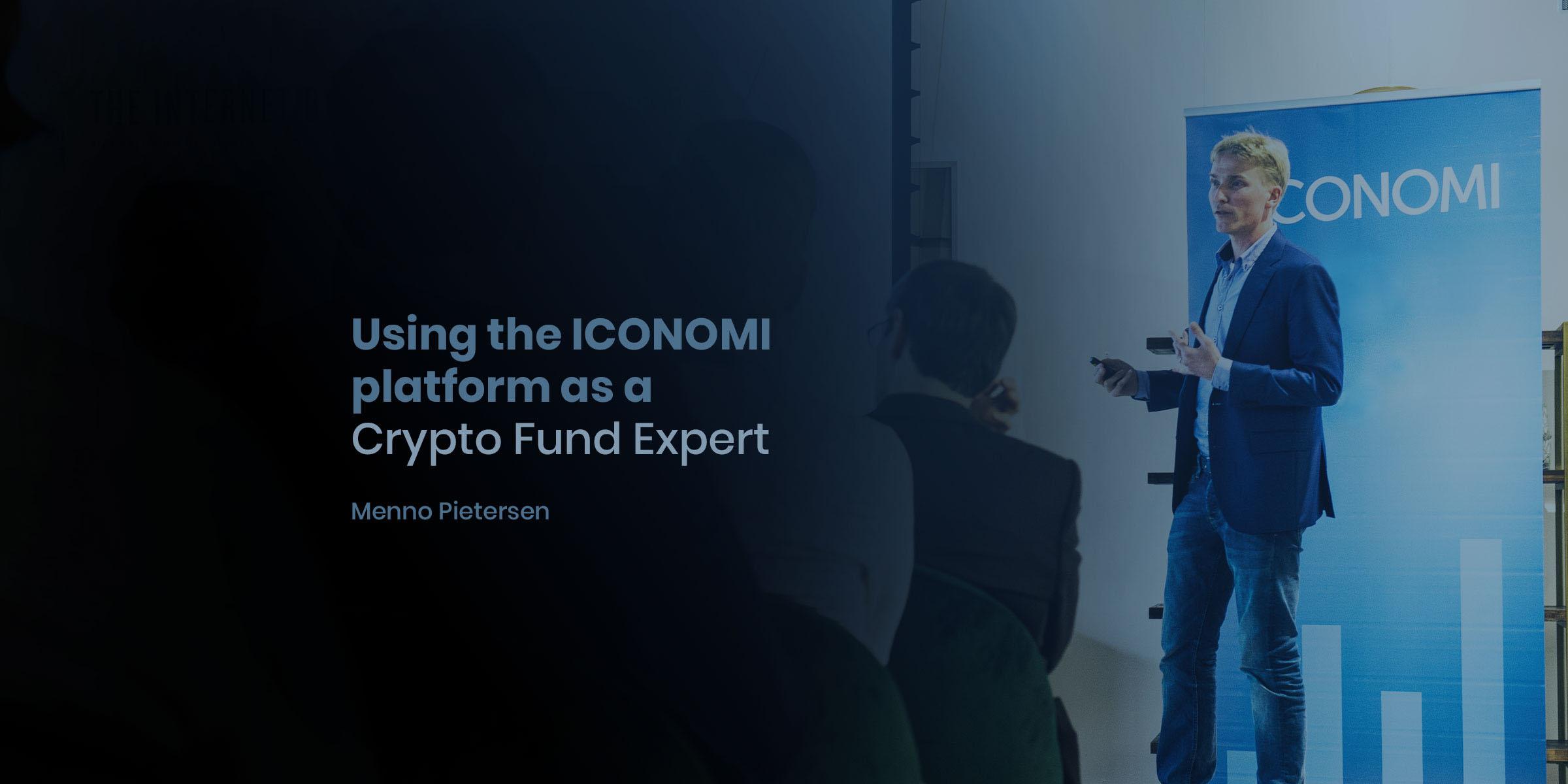 Using the ICONOMI platform as a Crypto Fund Expert